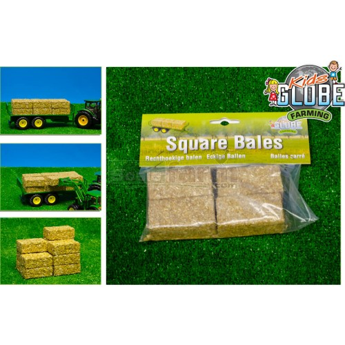 Rectangular Bales (Set of 4) (Kids Globe 610704)