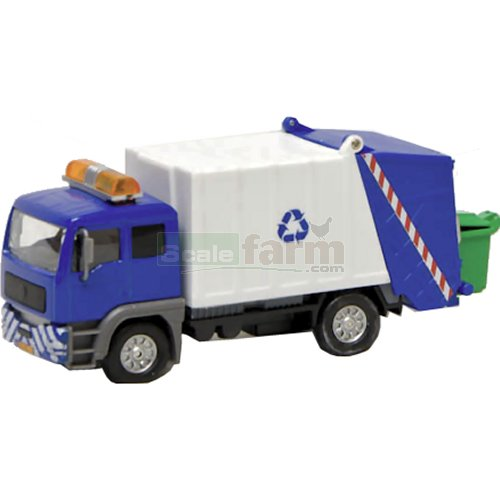 Pull-Back Garbage Truck with Light and Sound (Kids Globe 510722)