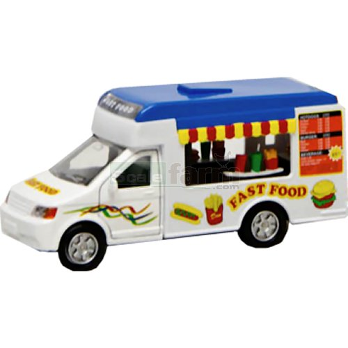 Pull-Back Fast Food Truck with Light and Sound (Kids Globe 510723)