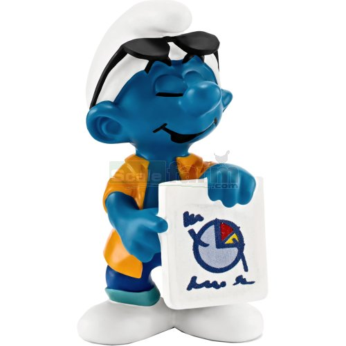 Marketing Smurf (Schleich 20773)