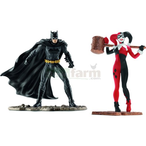 Batman vs Harley Quinn Scenery Pack (Schleich 22514)