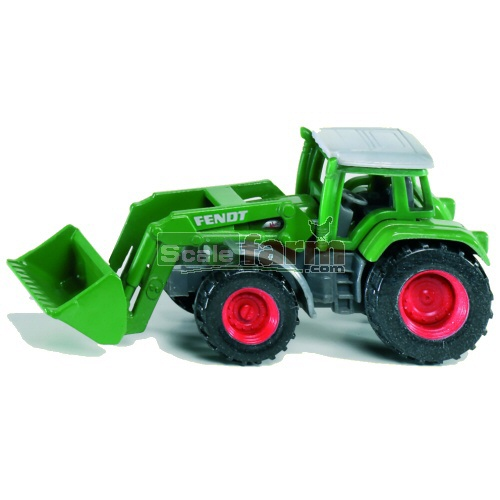 Fendt Vario Tractor with Front Loader (SIKU 1039)