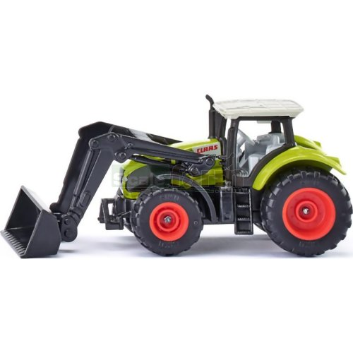 CLAAS Axion Tractor with Front Loader (SIKU 1392)