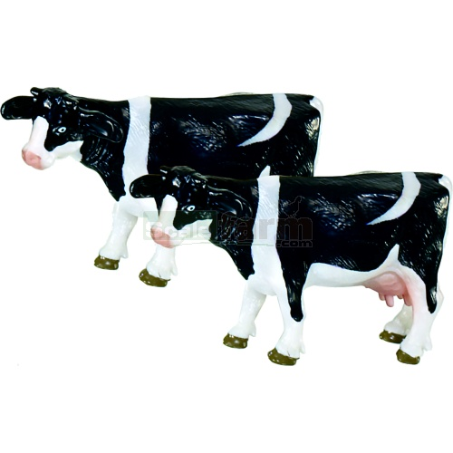 Black and White Cows (Pack of 2) (Siku 1447)