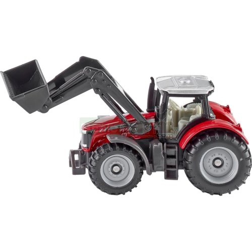 Massey Ferguson Tractor with Front Loader (SIKU 1484)