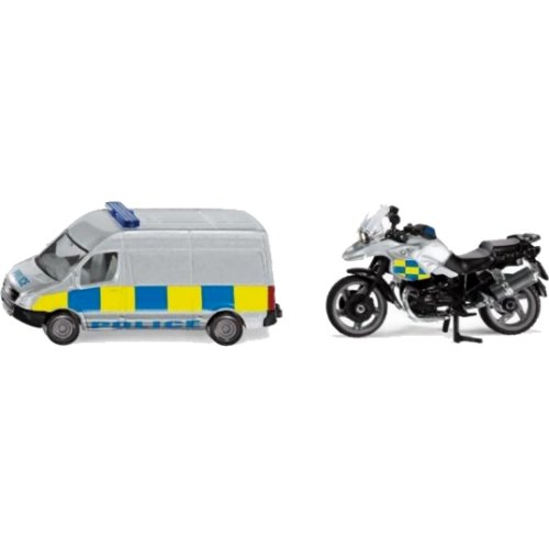 Police 2 Vehicle Set (Siku 1655)