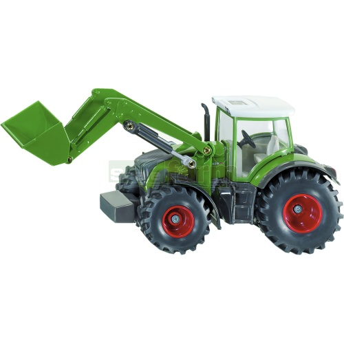 Fendt 936T Tractor with Front Loader (SIKU 1981)