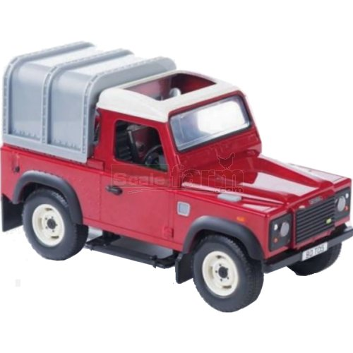 Land Rover Defender - Big Farm (Burgundy) (Britains 42707A2)