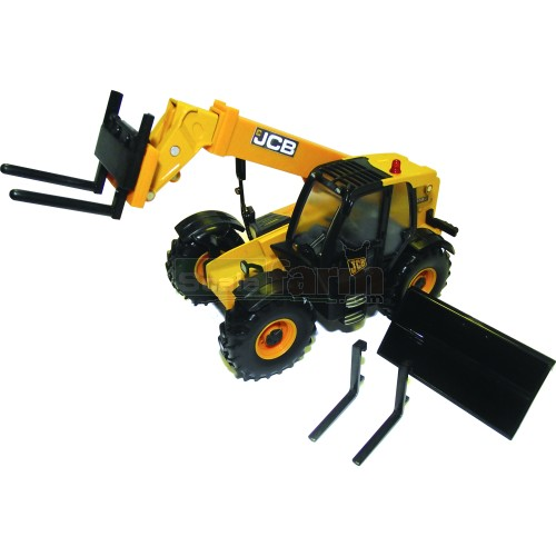 JCB 550-80 Loadall with Bucket and Forks (Britains 42872)