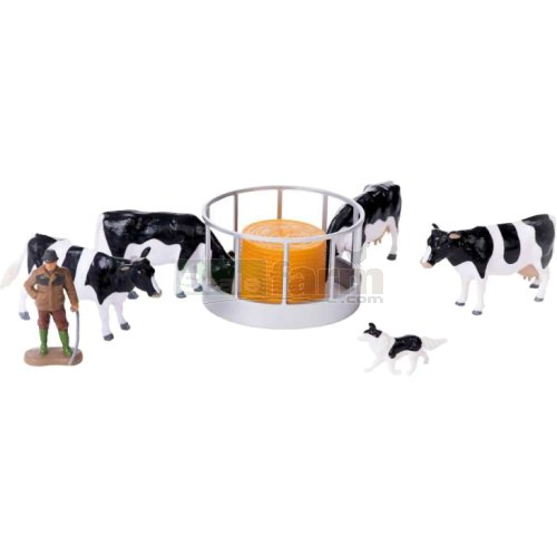 Cattle Feeder Set (Britains 43137A1)