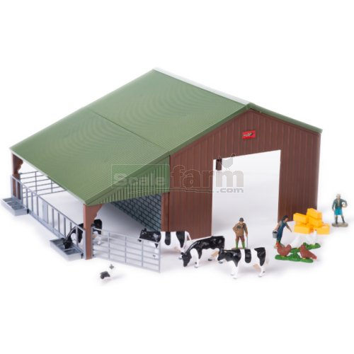 Dual Purpose Building and Accessories Set (Britains 43139A1)