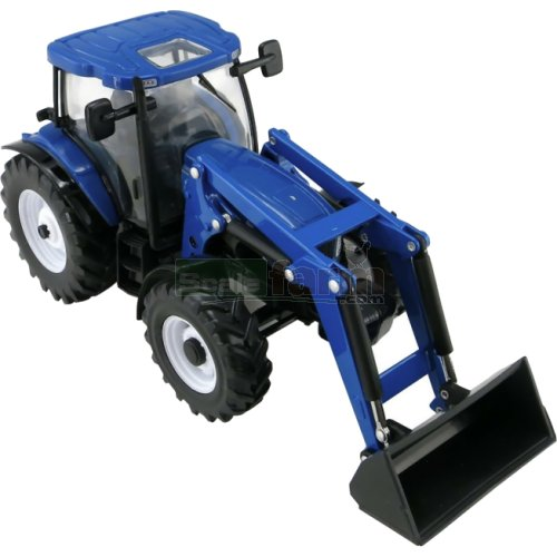 New Holland T6.180 Tractor with Front Loader (Britains 43148A1)