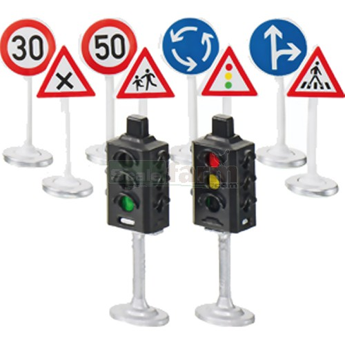 Siku World Traffic Lights and Road Signs (SIKU 5597)