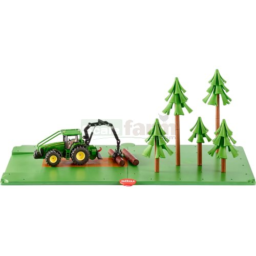 Siku World Forestry Set with John Deere Forestry Tractor (SIKU 5605)