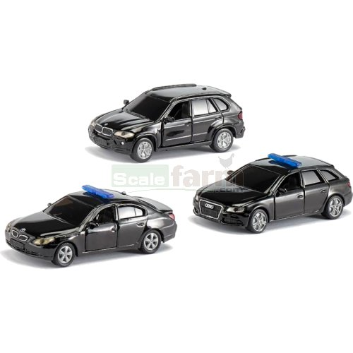 VIP Command 3 Car Set - Limited Edition (SIKU 6306)