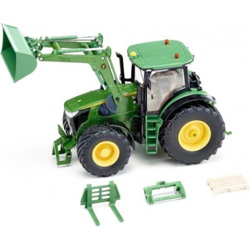 John Deere 7310R Tractor with Front Loader (Bluetooth App Controlled) (SIKU 6792)