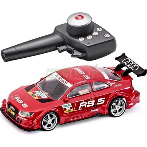 Audi RS5 DTM Radio Controlled Car Set (2.4 GHz with Remote Control Handset) (SIKU 6825)