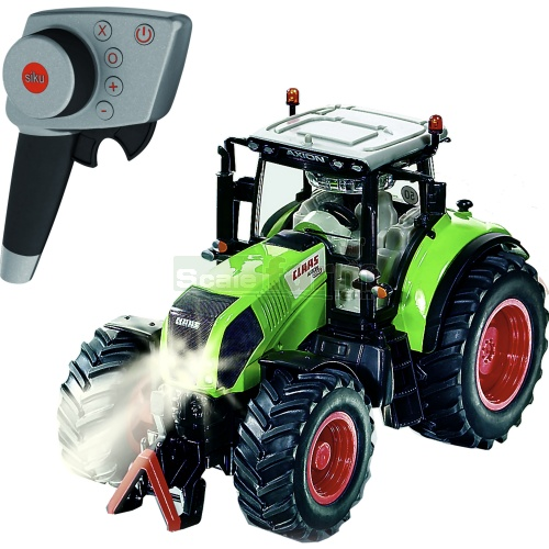 CLAAS Axion 850 Radio Controlled Tractor (2.4GHz with Remote Control Handset) (SIKU 6882)