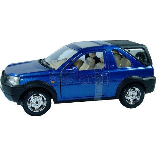 Land Rover Freelander - Blue (Bburago 22012B)