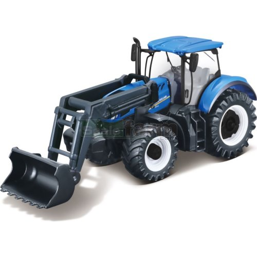 New Holland T7.315 Tractor with  Front Loader (Bburago 31632)