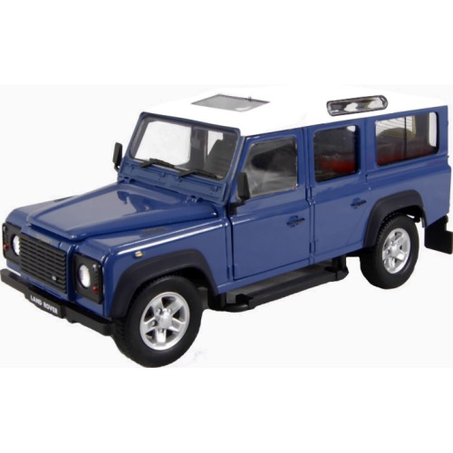 Land Rover Defender - Blue (Cararama 125)