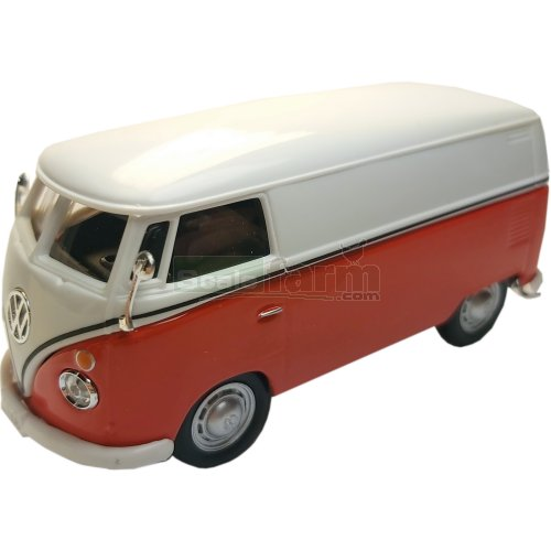 VW T1 Samba Van - Red / White (Cararama 4-60342)