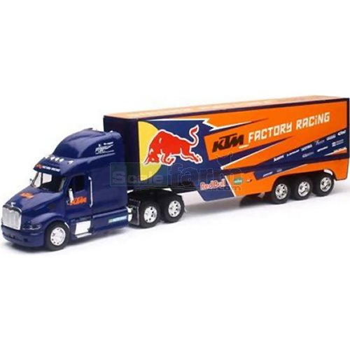 Peterbilt Race Transporter - KTM Red Bull 2017 (NewRay 14393)