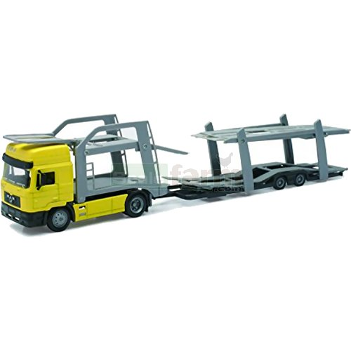 MAN F2000 Car Transporter - Yellow (NewRay 15033)