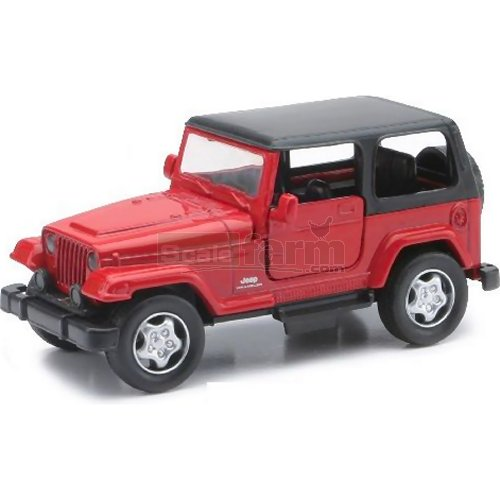 Jeep Wrangler - Red (NewRay 54163)