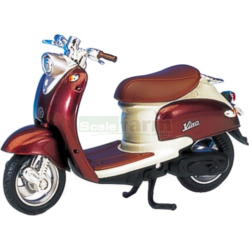 Yamaha Vino YJ50R - 1999 (Brown-Copper/Cream) (Welly 12142)