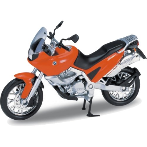 BMW F650 - 1997 (Red/Orange) (Welly 12144)