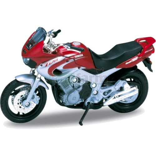 Yamaha TDM850 - 2001 (Red/Silver) (Welly 12155)