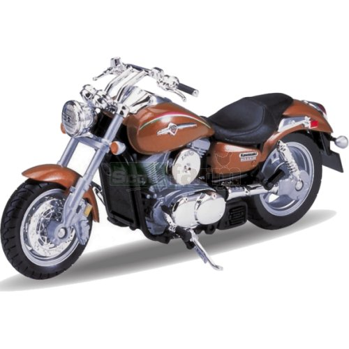 Kawasaki Vulcan 1500 -2002 (Bronze) (Welly 12166)