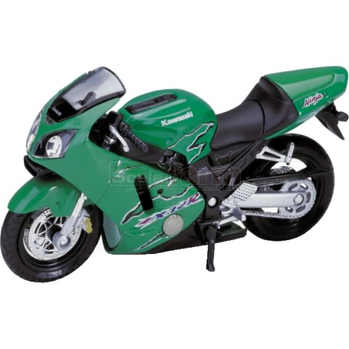Kawasaki Ninja ZX-12R - 2001 (Green ) (Welly 12167)