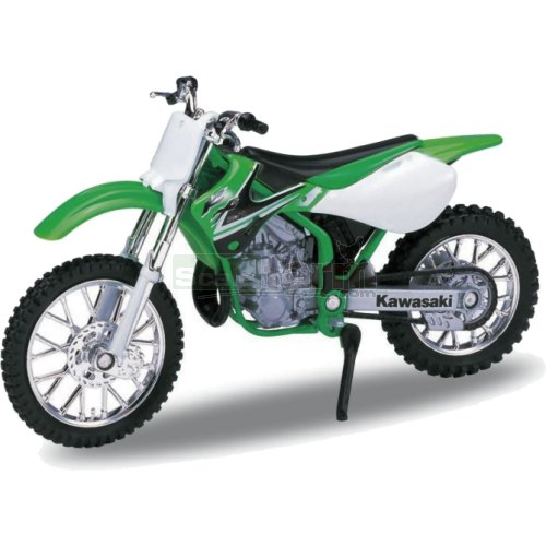 Kawasaki 2002 KX 250 Motorbike - Green (Welly 12169)