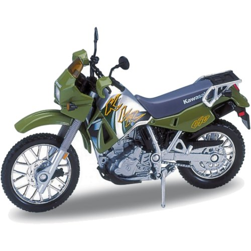 Kawasaki KLR 650 - 2002 (Green) (Welly 12170)
