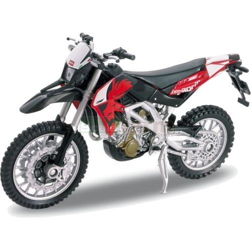 Aprilia RVX 450 Motorbike - Red (Welly 12827)