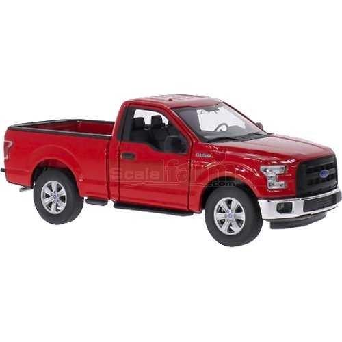 Ford F-150 Pick Up - 2015 (Red) (Welly 24063)
