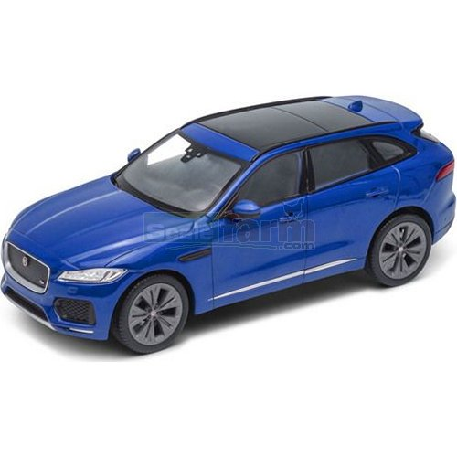 Jaguar F-Pace - Blue (Welly 24070)