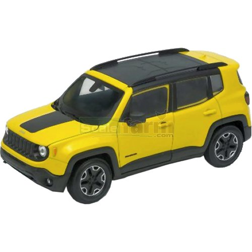 Jeep Renegade Trailhawk - Yellow (Welly 24071)