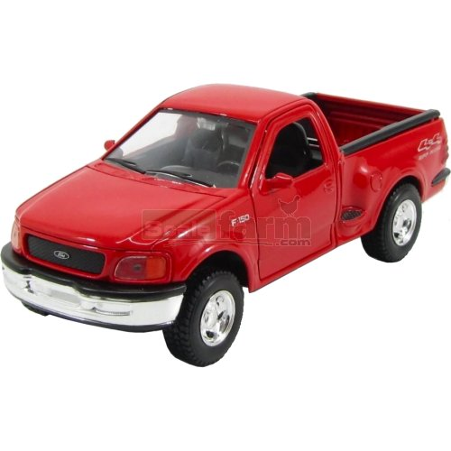 Ford F-150 Flareside Pick Up - 1999 (Red) (Welly 29391)