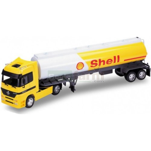Mercedes Benz Actros Tanker - Shell (Welly 32882)
