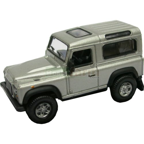 Land Rover Defender - Silver (Welly 73127)