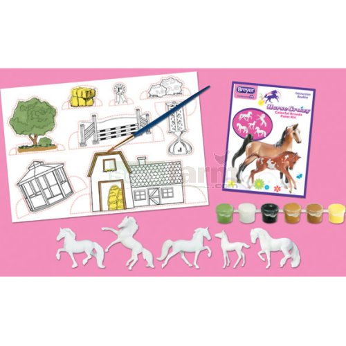 Horse Crazy Colourful Breeds Paint Kit (Breyer 4198)