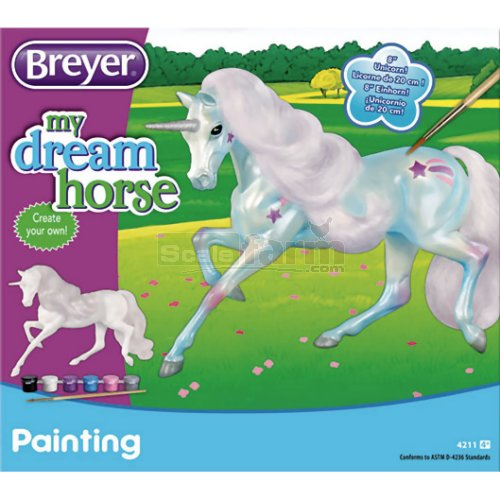 My Dream Horse - Paint Your Own Unicorn (Breyer 4211)