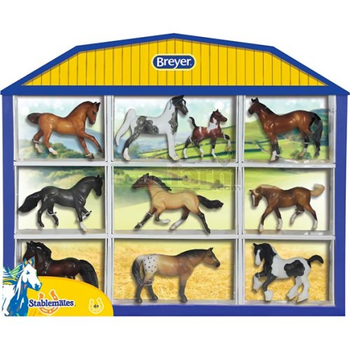 Stablemates Horse Lover's Collection Shadow Box Set (Breyer 5425)