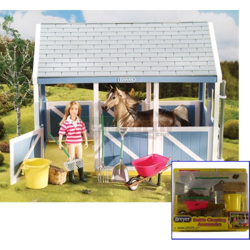 Stable Cleaning Accessory Set (Breyer 61074)