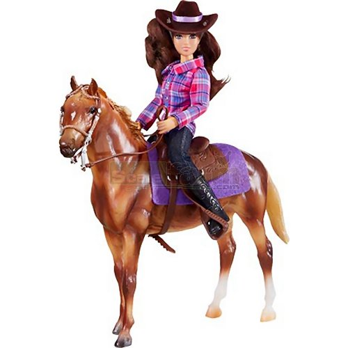 Classics Western Rider and Horse Set (Breyer 61116)