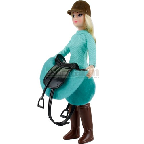 Heather - English Rider with Saddle and Accessories (Breyer 62022)
