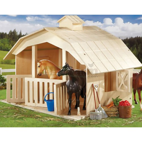 West Wind 3 Stall Stable (Breyer 701)